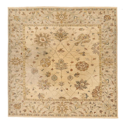 """8' x 8'1 Hand-Knotted Gopal Wattal & Co. """"Aharbal"""" Area Rug, 2000s"""