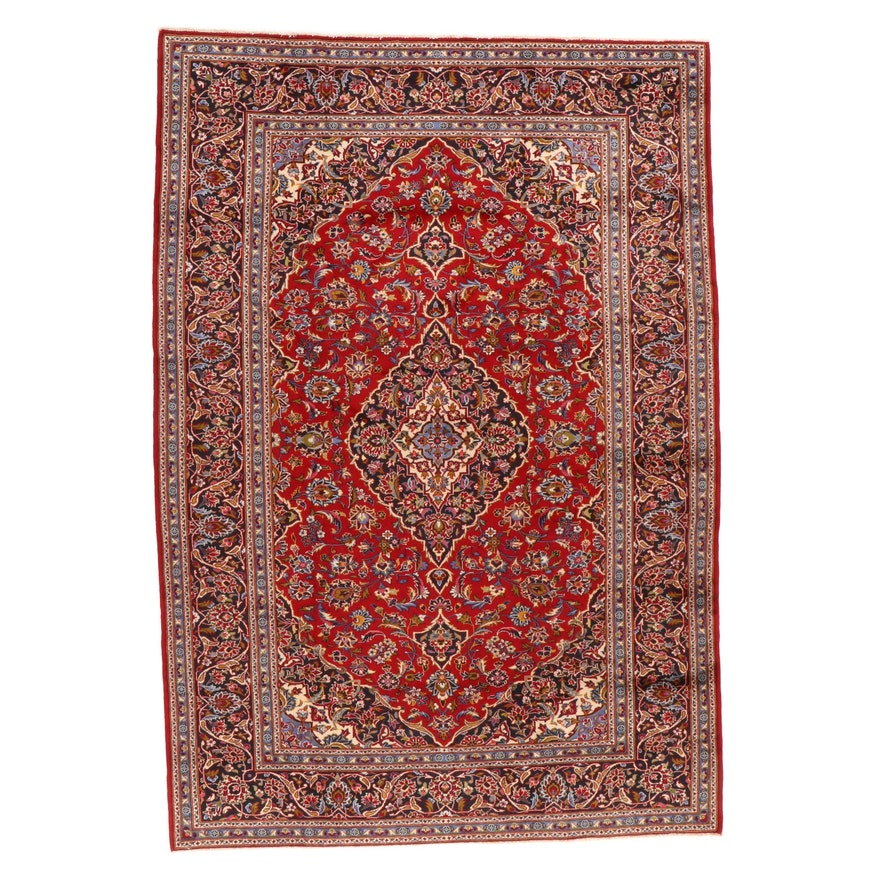 7'11 x 11'8 Hand-Knotted Persian Tabriz Room Sized Rug