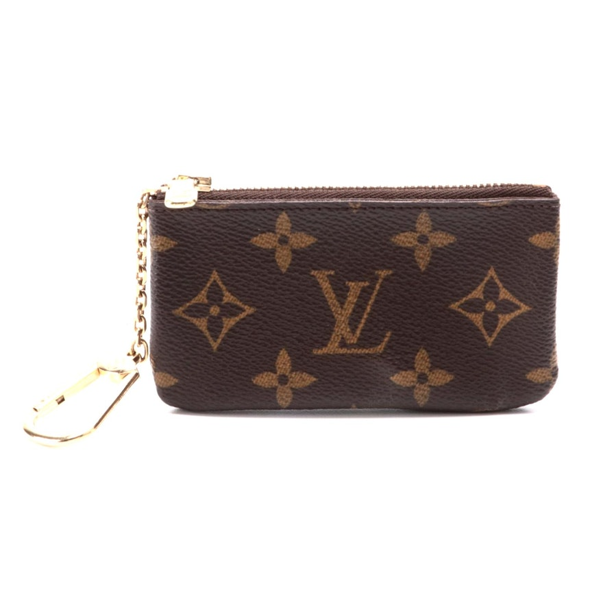 Louis Vuitton Pochette Cles in Monogram Canvas
