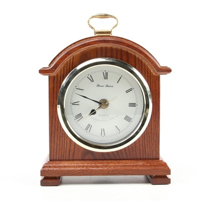 Daniel Dakota Oak Cased Carriage Clock