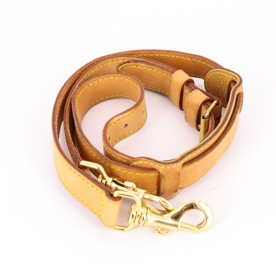 Louis Vuitton Keepall Bandouliere Strap in Vachetta Leather