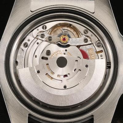 2010 Rolex Submariner 114060 Ceramic and Stainless Steel Wristwatch