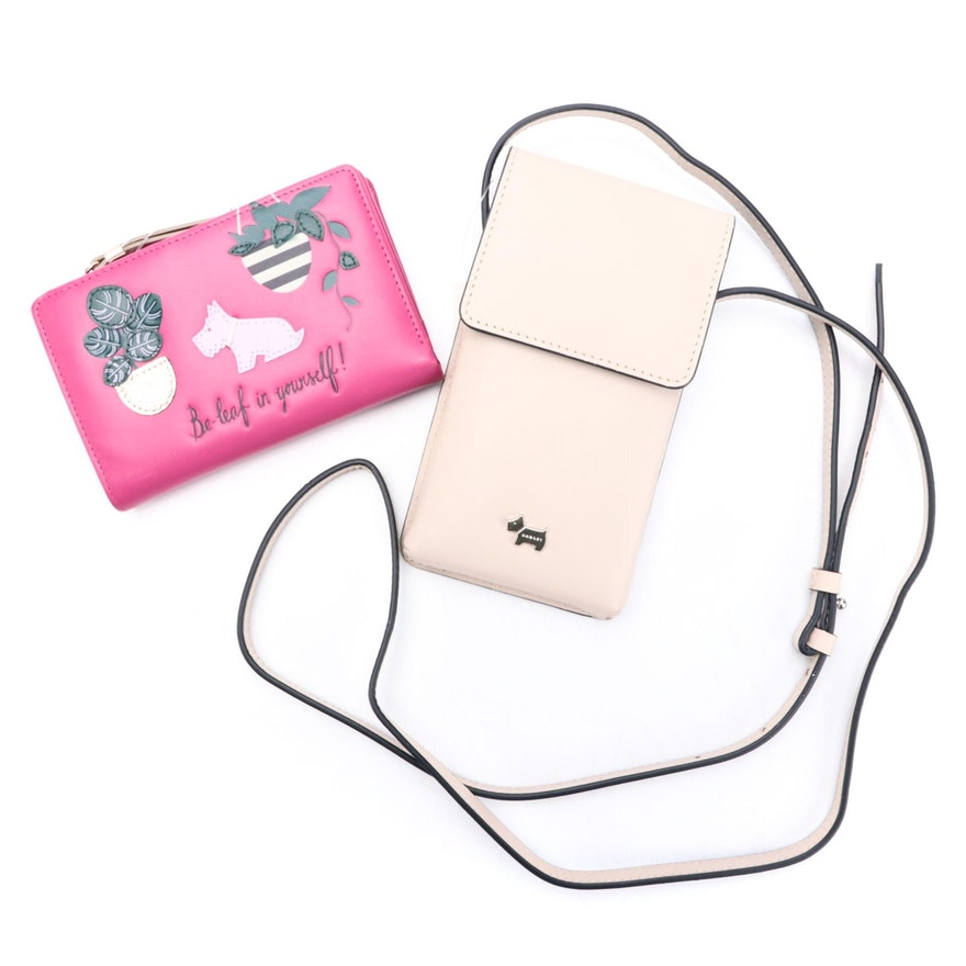 Radley London Be-Leaf Wallet and Medium Phone Crossbody Bag