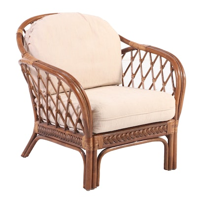 Bamboo Lounge Chair, Late 20th Century