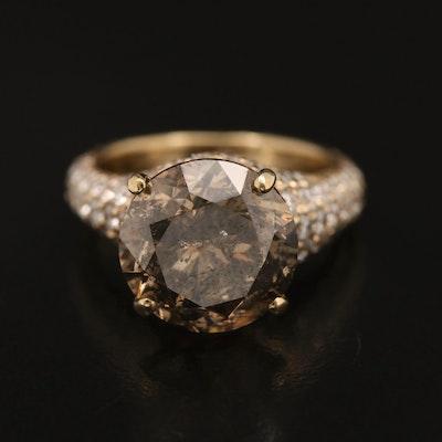 18K 7.13 CTW Diamond Ring