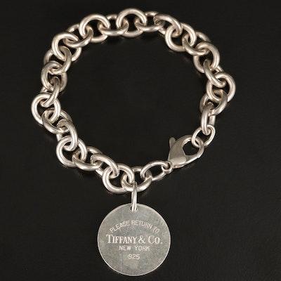 "Sterling ""Return to Tiffany"" Tag Bracelet by Tiffany & Co."