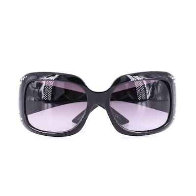 Christian Dior Ondine Crystal Embellished Sunglasses