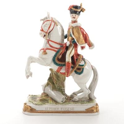 """German Kistner """"Le Prince Eugene"""" Porcelain Figurine"""