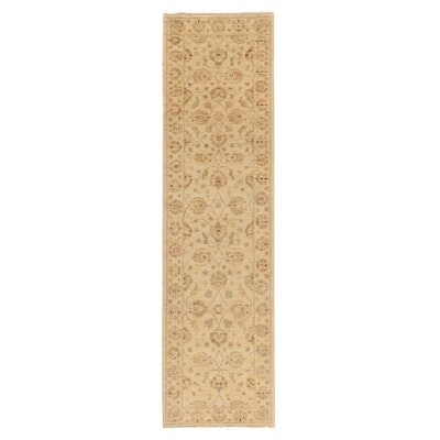 2'7 x 9'9 Hand-Knotted Indo-Persian Tabriz Carpet Runner