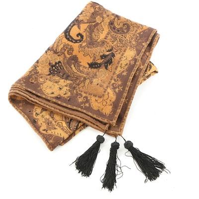 Sisilia Cotton Chenille Throw Blanket