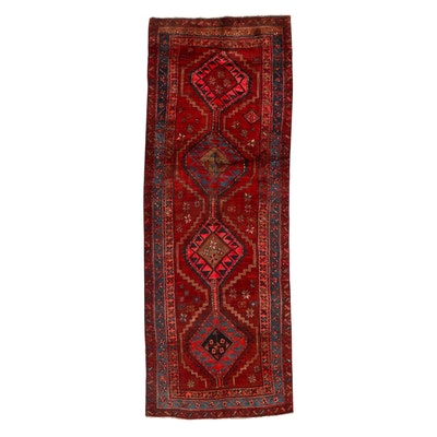 3'6 x 10' Hand-Knotted Persian Shiraz Long Rug