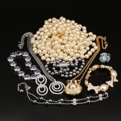 Joan Rivers and Nolan Miller Featured in Jewelry Collection