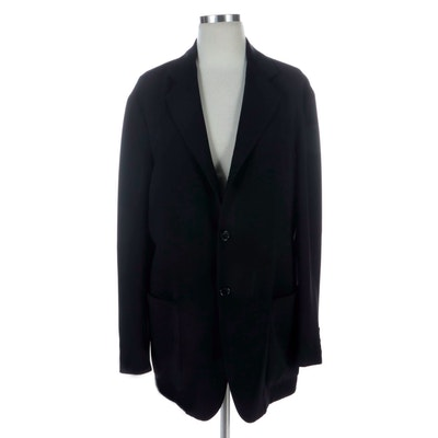 Donna Karan Signature Black Straight Blazer