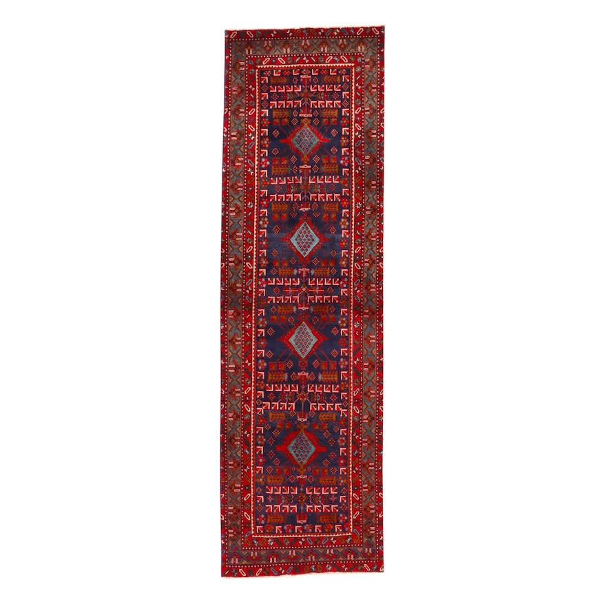 3' x 10'5 Hand-Knotted Northwest Persian Carpet Runner