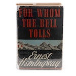 """First Printing """"For Whom the Bell Tolls"""" by Ernest Hemingway, 1940"""