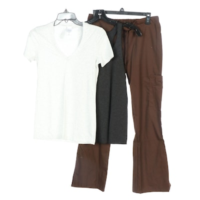 Clementine Tops and Fashion Seal Medical Scrub Pants