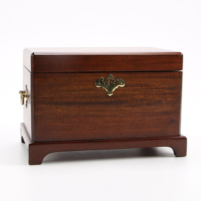 Selamat Designs Chippendale Style Mahogany Box with Other Box
