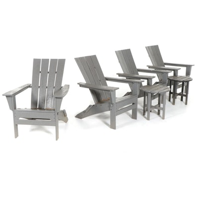 L.L. Bean Patio Chairs and Tables