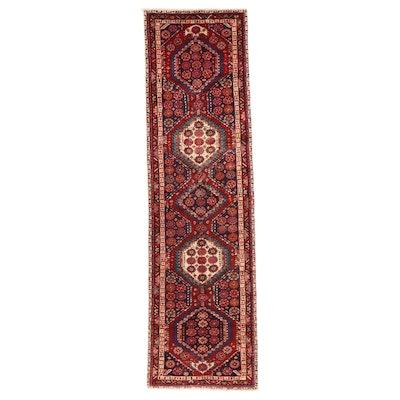 3' x 11'6 Hand-Knotted Persian Kolyai Carpet Runner