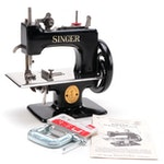 Singer Sewhandy Hand Crank Toy Sewing Machine, Mid-20th Century