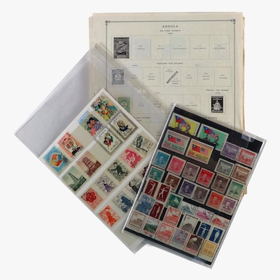 World Postage Stamp Collection, 20th Century