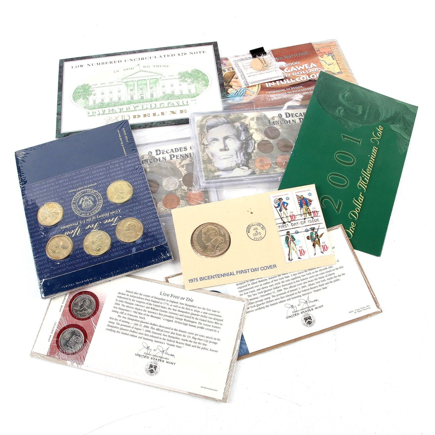 Assorted U.S. Coin and Currency Sets