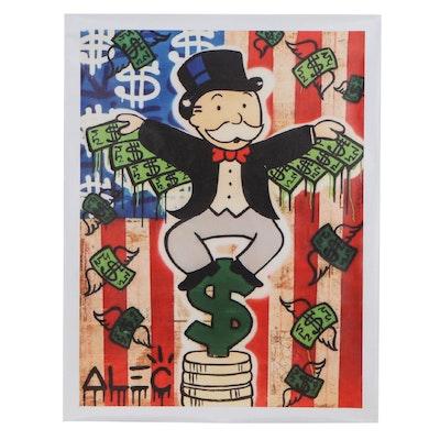 Pop Art Giclée after Alec Monopoly