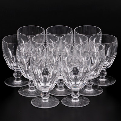 "Waterford Crystal ""Kathleen"" Short Stem Water Goblets, 1968–2017"