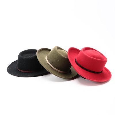 Dorfman Pacific Co, Betmar and Other Wool Felt Hats