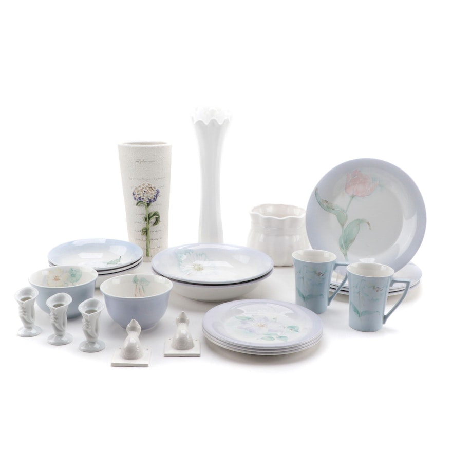 """Portmeirion """"The Seasons Collection"""" Dinnerware with Other Table Accessories"""