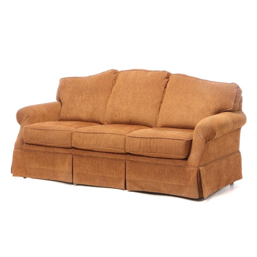 Flexsteel Upholstered Roll-Arm Sofa