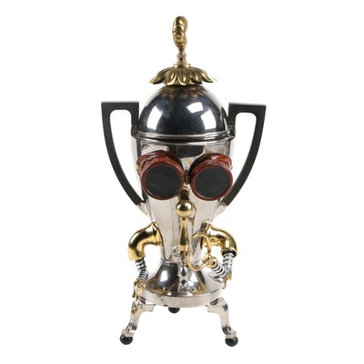 "Tony Mongenas Robot Found Object Sculpture ""Stubby,"" 21st Century"
