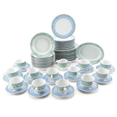 "Wedgwood Home ""Watercolour"" Porcelain Dinnerware, Late 20th Century"