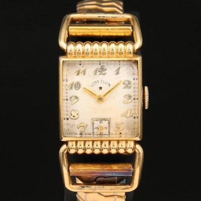 "Vintage ""Lord Elgin"" 14K Gold Filled Wristwatch"