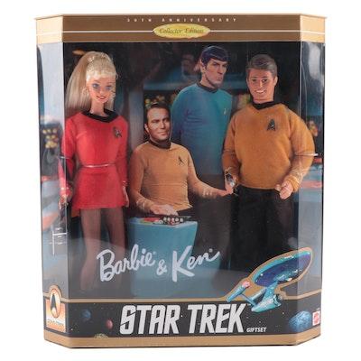 "Barbie & Ken ""Star Trek"" 30th Anniversary Collector's Edition Set"