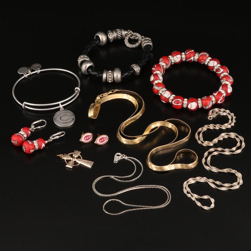 Jewelry Featuring Alex & Ani and Cincinnati Reds
