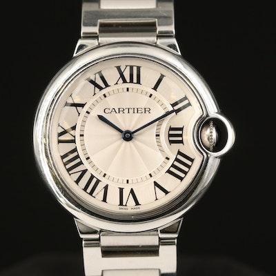 Cartier Ballon Bleu Stainless Steel Quartz Wristwatch