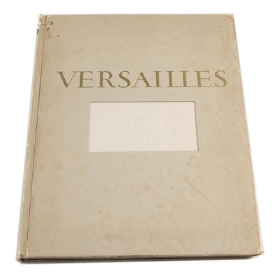 """French Language Limited Edition """"Versailles"""" by Charles Mauricheau-Beaupré, 1949"""