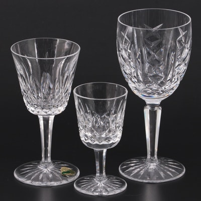 """Waterford """"Lismore"""" Crystal Claret Wine Glass, Port Glass, and More"""
