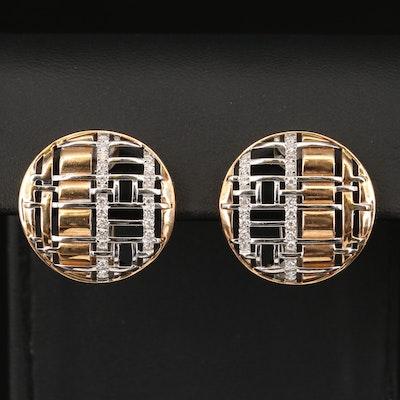 Roberto Coin Diamond Convertible Earrings