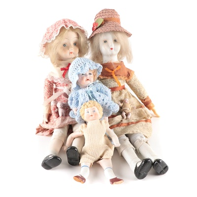 JDK Bisque Jointed Doll, Other Bisque Dolls