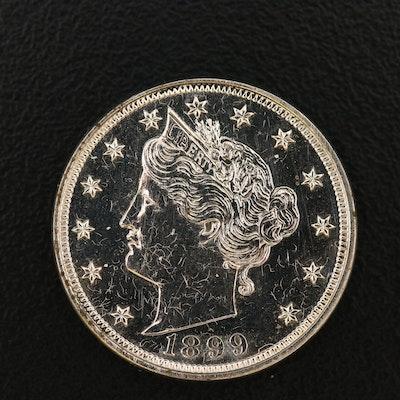 "1899 Proof Liberty Head ""V"" Nickel"