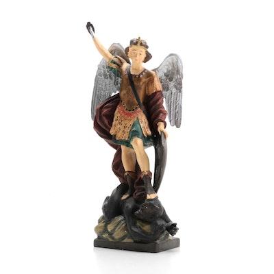 DiGiovanni Statuary Collection St. Michael Resin Figurine