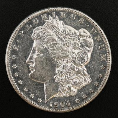 Key Date 1904-S Morgan Silver Dollar