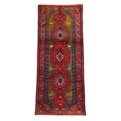 3'5 x 8'8 Hand-Knotted Persian Kolyai Long Rug