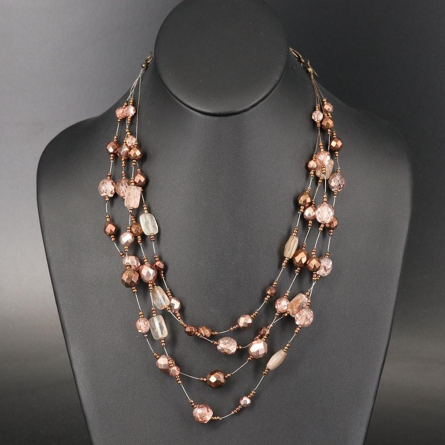 Adjustable Bead Necklace