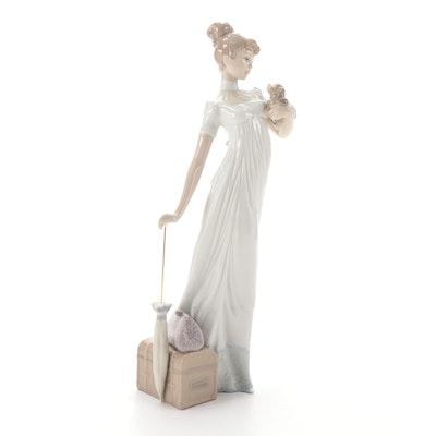 "Lladró ""Traveling Companions"" Porcelain Figurine Designed by Regino Torrijos"