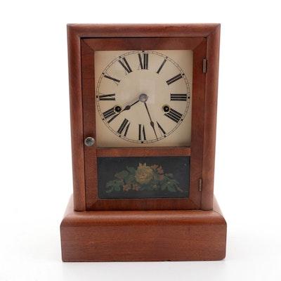 Seth Thomas Walnut Ogee Clock, Late 19th/Early 20th C.