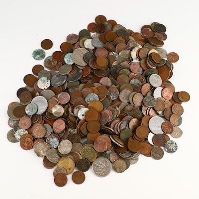 International Coin Collection, Mid to Late 20th Century