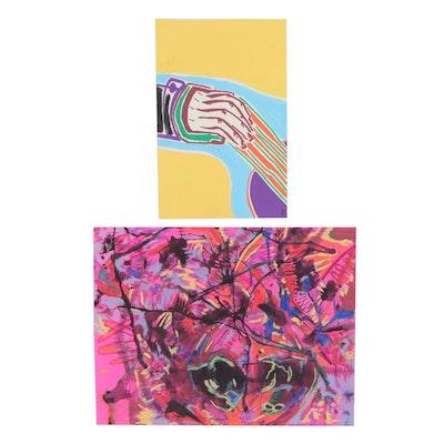 Olga Sanz Casasnovas Watercolor Paintings, 21st Century